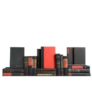 Accented World History: Ebony & Crimson Books - Set of 20