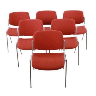 Mid-Century Italian Dining Chairs - Set of 6