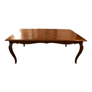 Country French Pierre Duex for Henredon Cherry Wood Dining Table