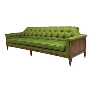 Mid-Century Hollywood Regency Style Tufted Sofa