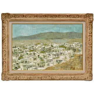 Signed Speck Landscape Painting