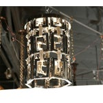 Image of Paul Marra Link Fixture in Polished Nickel & Brass