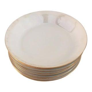 Vintage Luster Hutschenreuther Porcelain Soup Bowls - Set of 9