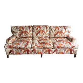 Vintage Palm Motif Couch