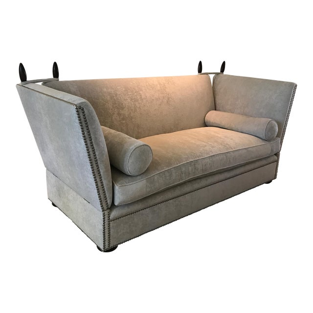 George Smith Light Silver Grey Sofa - Image 1 of 9