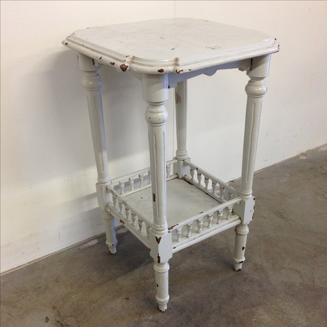 Rustic French Vintage Plant Stand - Image 4 of 10