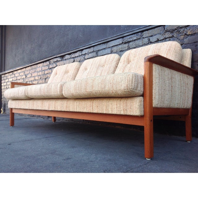 Mid Century Danish Teak Sofa - Image 5 of 8