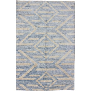 Aara Rugs Inc. Hand Knotted Bamboo Rug - 10 x 14