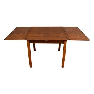 Mid-Century Danish Teak Draw Leaf Dining Table