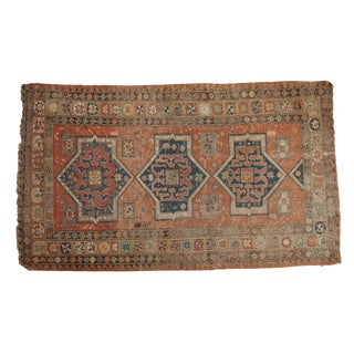 "Persian Antique Sumac Carpet - 4'11"" X 8'3"""