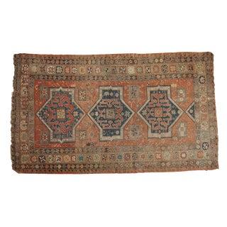 """Persian Antique Sumac Carpet - 4'11"""" X 8'3"""""""