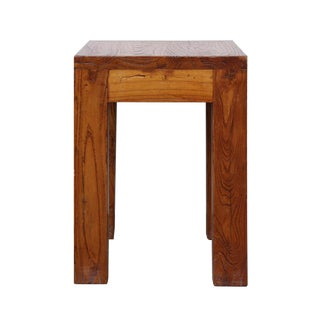 Rustic Chinese Wood Stool