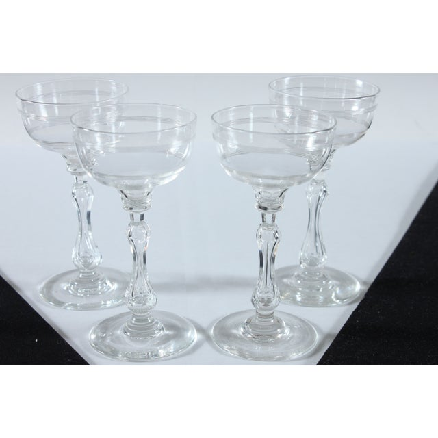 Image of Coupe Champagne Glasses - Set of 4