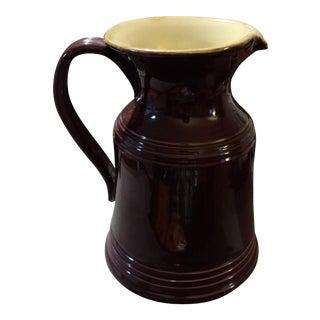 Vintage Italian Ceramiche Pitcher