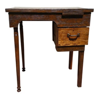 Vintage Hand-Crafted Writing Desk