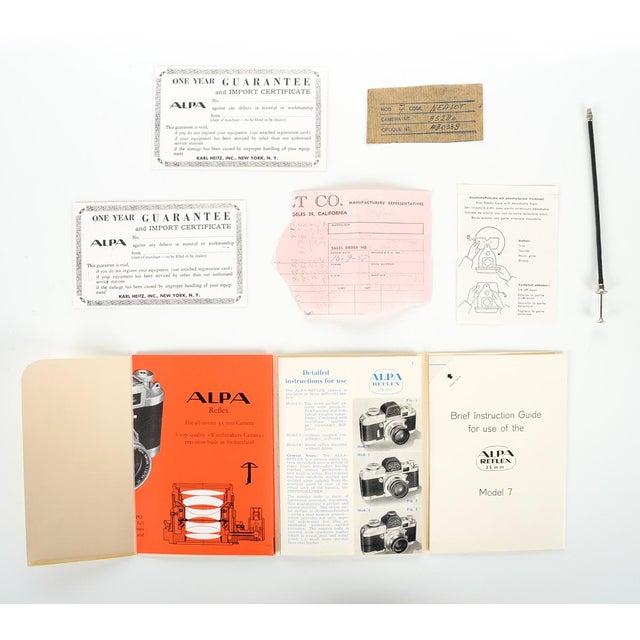 Alpa Alnea Model 7 W/50mm 1.8 Camera - Image 10 of 10