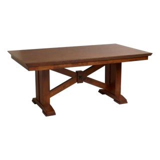 Solid Wood Lugano Style Table & 2 Benches