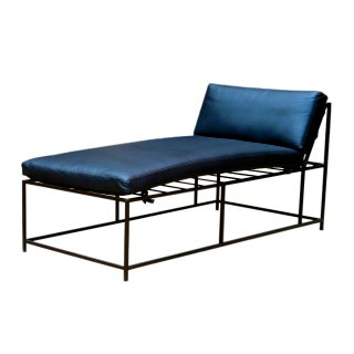 Industrial Wire Chaise