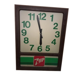 Vintage 7up Electric Store Advertising Sign