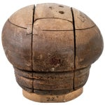 Image of Puzzle-Style Wood Hat Block Form