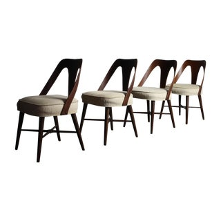 Lawrence Peabody Dining Chairs - a Set of 4
