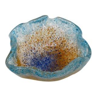 Splatter Glass Trinket Bowl