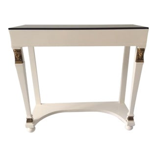 French Vintage Moderne Foyer Table