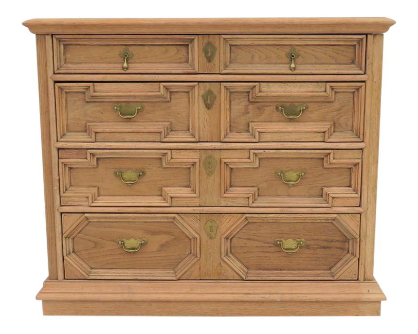 Century Oak William U0026 Mary Style Bachelor Chest