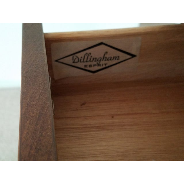 Mid-Century Dillingham Wall Unit with Shelving - Image 5 of 9