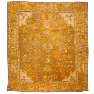 Antique Oushak Carpet