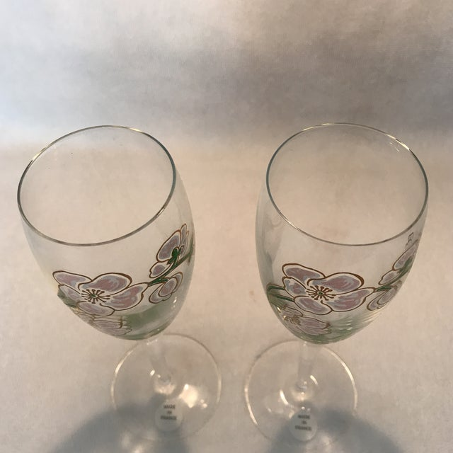 Perrier Jouet Champagne Flutes- A Pair - Image 7 of 10