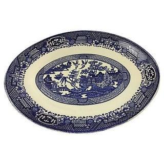Chinoiserie Transferware Platter