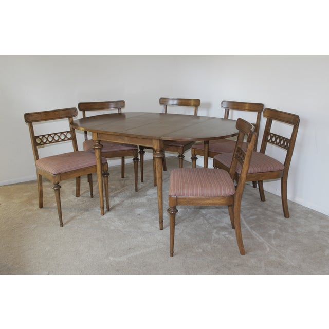 Mid-Century Drop Leaf Dining Set - Image 2 of 7