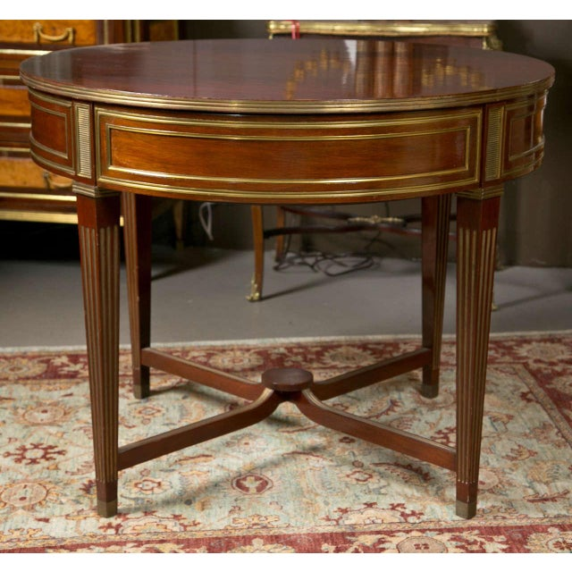 19th century russian neoclassical centre table chairish for Table th width ignored