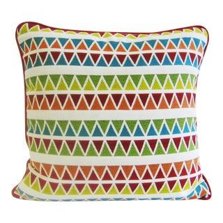 "Handmade Boho Chic Pillows - 22"" x 22"""