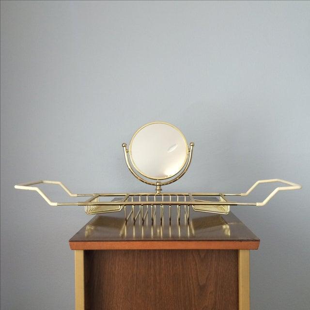 Image of Brass Bathtub Tray