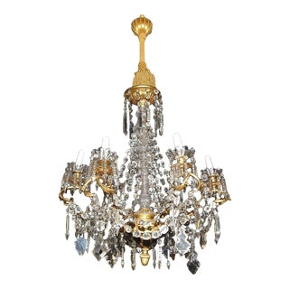 French Louis XV Crystal Chandelier