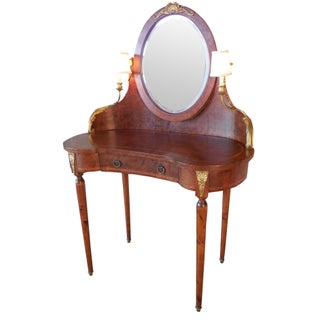 French Bouillotte-Style Dressing Vanity