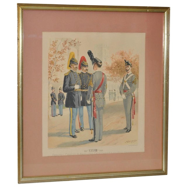 U.S. Military Academy Color Lithograph C.1888 - Image 1 of 10