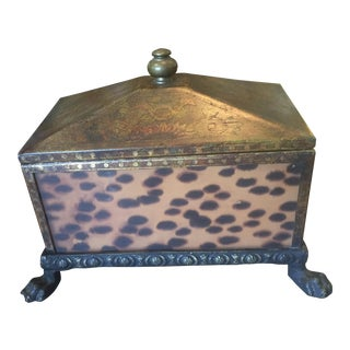 Gold & LeopardDecorative Box