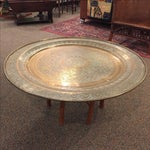 Image of Moroccan Brass Tea Table