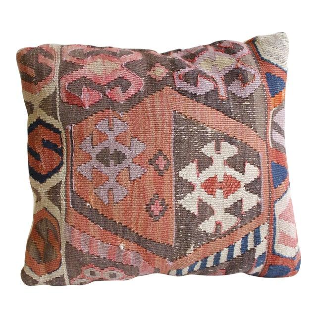 Vintage Turkish Kilim Pillow - Image 1 of 5
