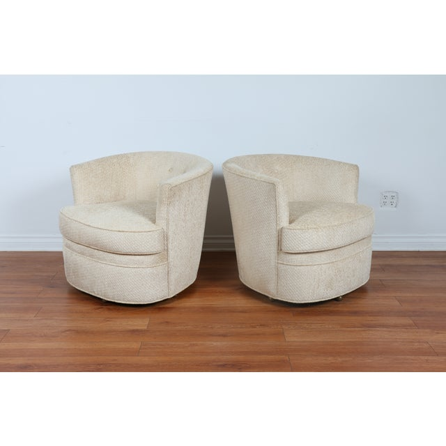 Swivel Vintage Beautiful Chairs - Pair - Image 2 of 10