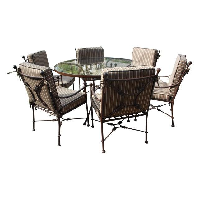 Sunbrella Cushion Outdoor Dining Set - Image 1 of 11