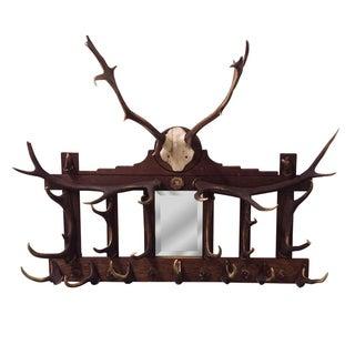 Rustic Deer Antler Rack