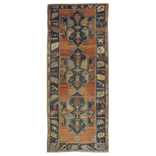 "Vintage Turkish Oushak Rug - 4'9"" x 13'4"""