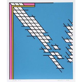 "1978 Nicholas Krushenick ""Tail Gate"""