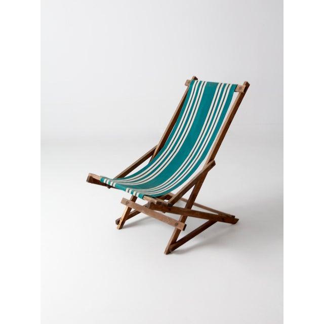 Vintage American Deck Chair - Image 6 of 9