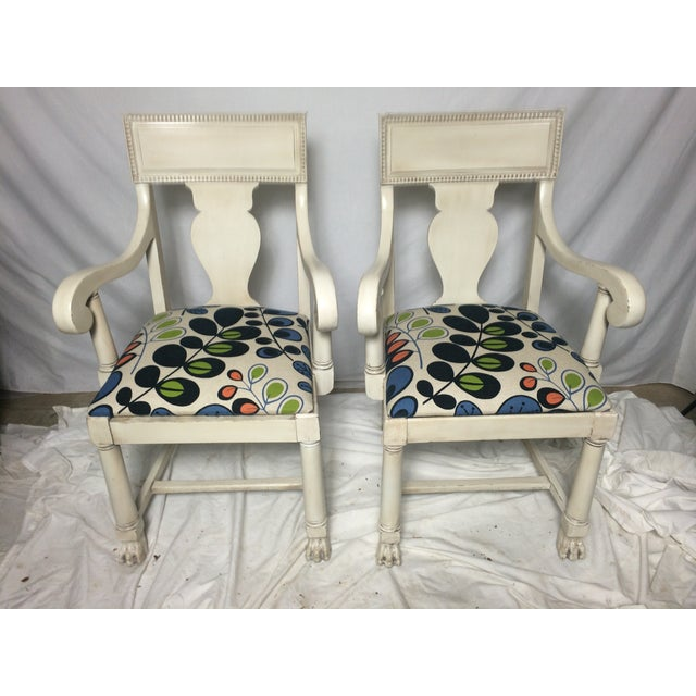 Restored Empire Chairs - A Pair - Image 5 of 5