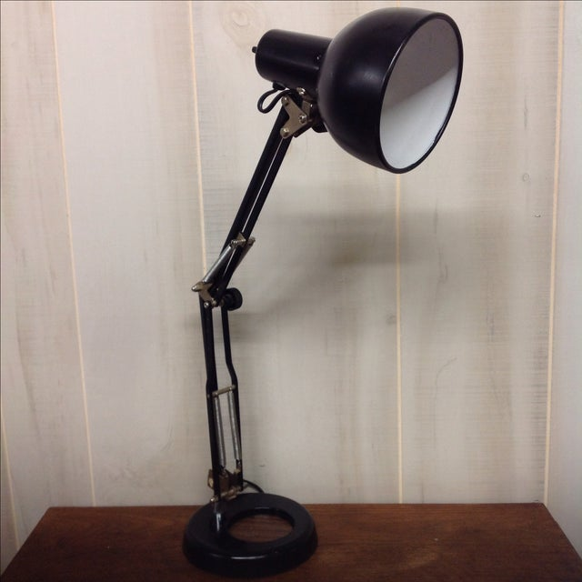 Vintage Adjustable Black Anglepoise Lamp Chairish